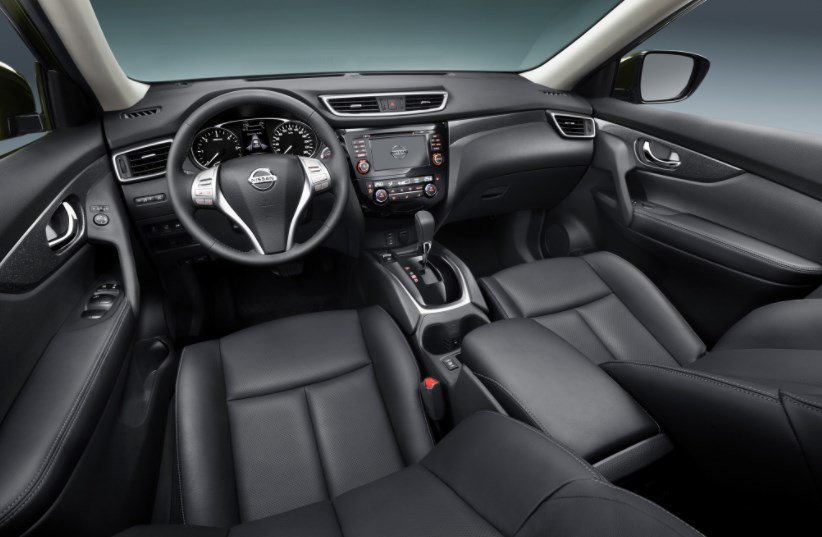 2014 Nissan Rogue Interior HD Wallpaper