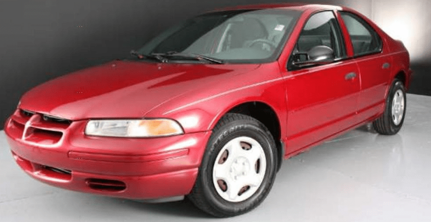 1997 Dodge Stratus Owners Manual and Concept