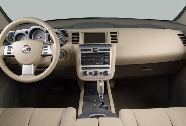 2006 Nissan Murano Interior HD Wallpaper
