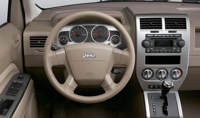 2008 Jeep Compass Interior and Redesign