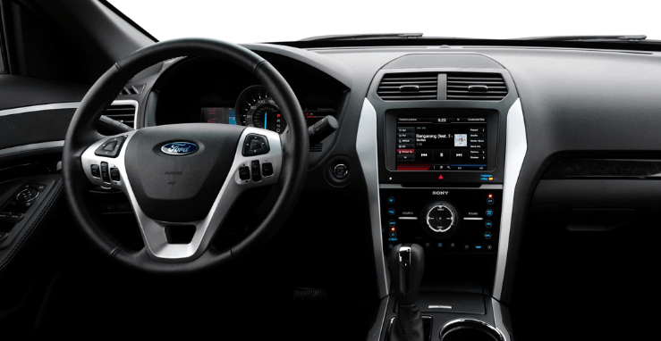 2013 Ford Explorer Interior and Redesign