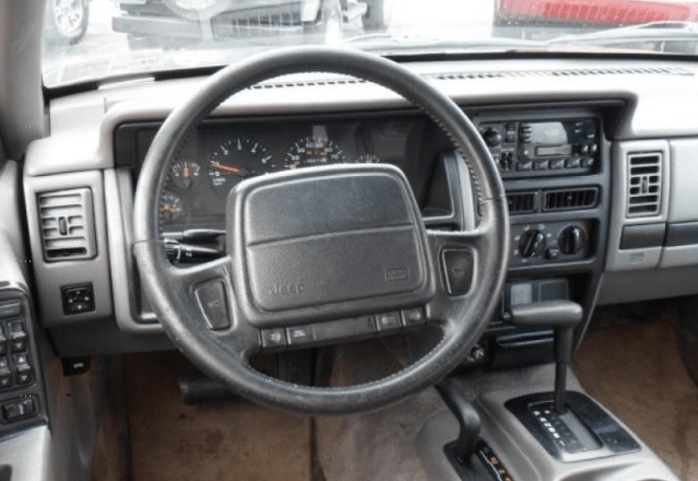 1995 Jeep Cherokee Interior and Redesign