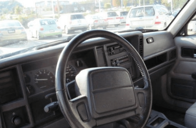 1996 Jeep Cherokee Interior and Redesign