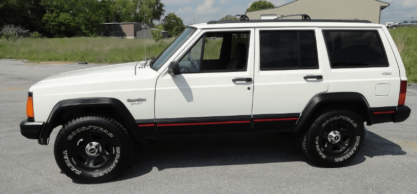 1996 Jeep Cherokee Owners Manual and Concept