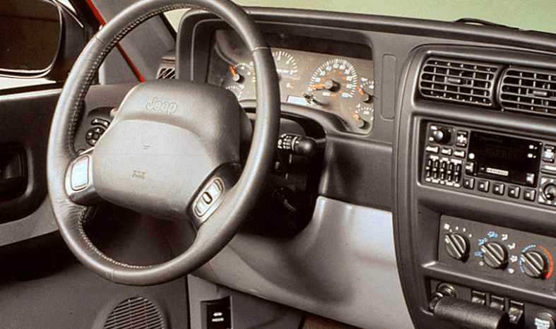 1997 Jeep Cherokee Interior and Redesign
