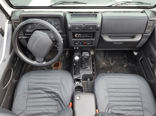 1999 Jeep Wrangler Interior and Redesign