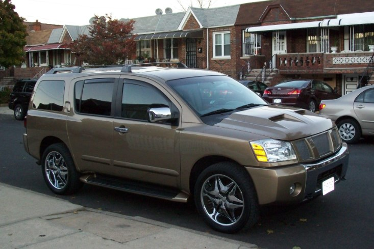 2004 Nissan Armada Concept HD Wallpaper