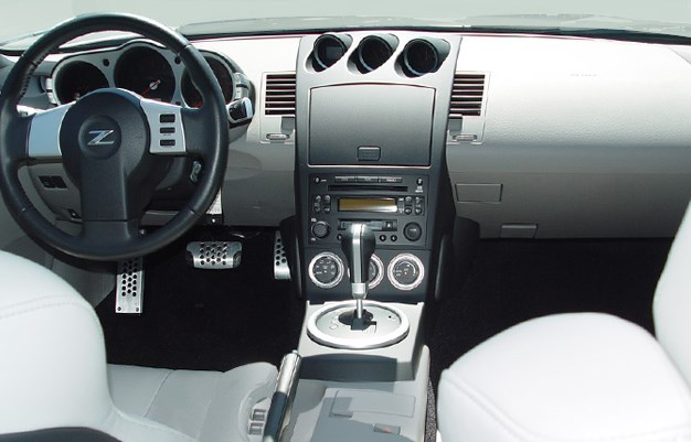 2005 Nissan 350Z Interior HD Wallpaper