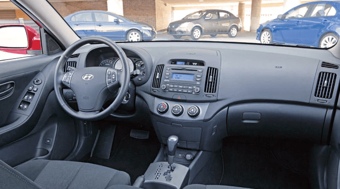 2007 Hyundai Elantra Interior and Redesign