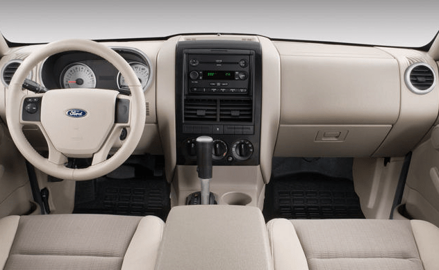 2008 Ford Explorer Sport Interior and Redesign