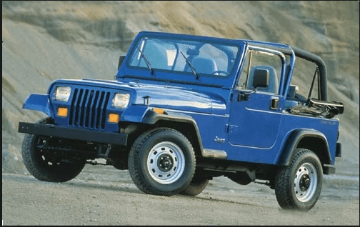 1990 Jeep Wrangler Owners Manual and Concept