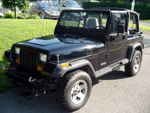 1994 Jeep Wrangler Owners Manual and Concept