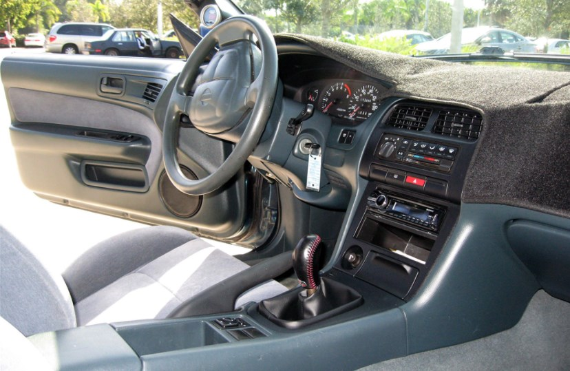 1995 Nissan 240SX Interior HD Wallpaper