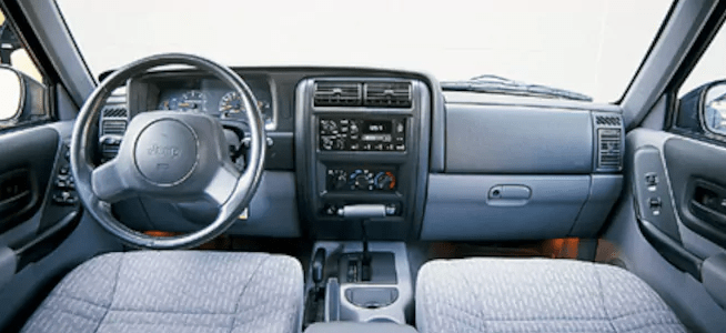 1998 Jeep Cherokee Interior and Redesign