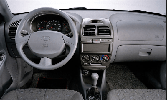 1999 Hyundai Accent Interior and Redesign