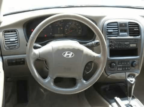 2002 Hyundai Sonata Interior and Redesign