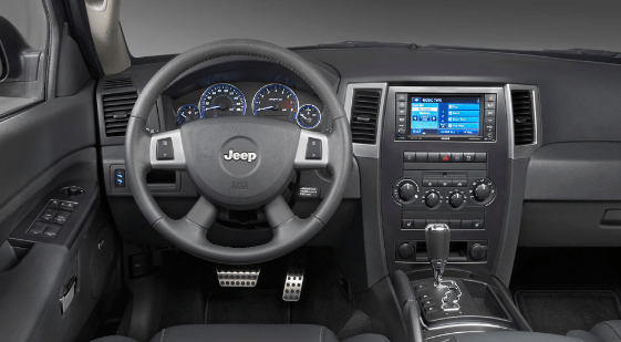 2008 Jeep Grand Cherokee Interior and Redesign