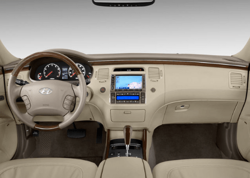 2009 Hyundai Azera Interior and Redesign