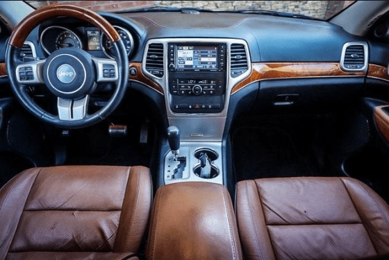 2012 Jeep Cherokee Interior and Redesign
