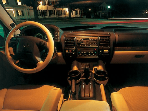2003 Land Rover Discovery Interior and Redesign