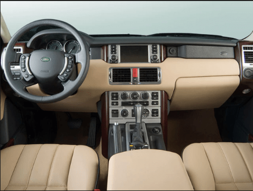 2006 Land Rover Range Rover Interior and Redesign