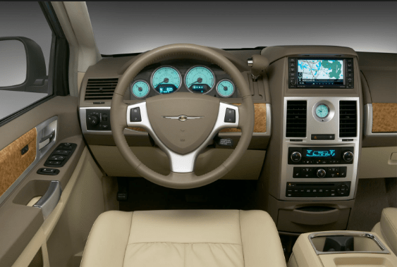 2010 Chrysler Town & Country Interior and Redesign