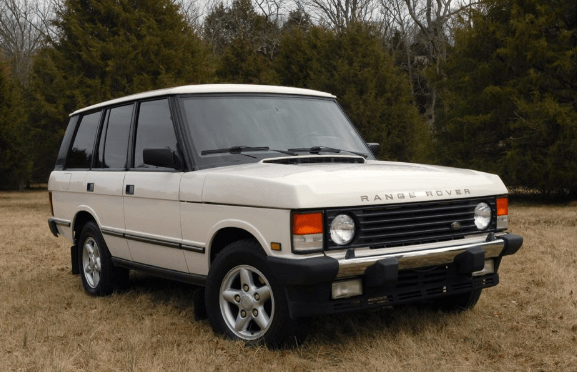 1995 Land Rover Range Rover Owners Manual and Concept