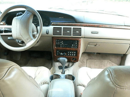 1997 Chrysler LHS Interior and Redesign