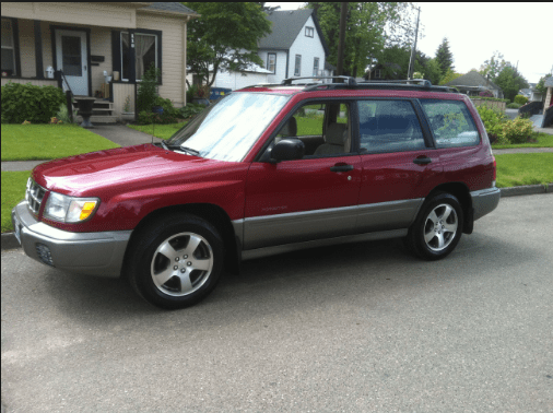 1998 Subaru Forester Owners Manual and Concept
