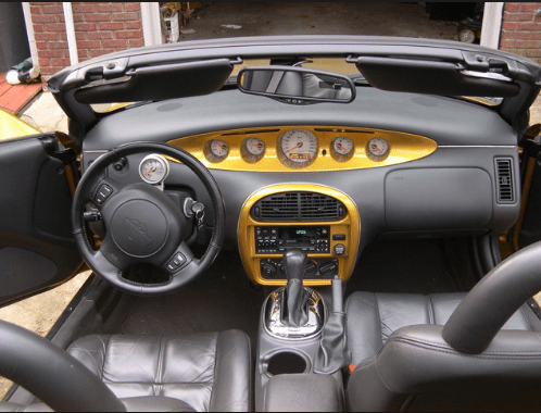 2001 Chrysler Prowler Interior and Redesign