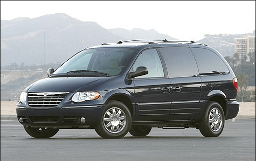 2005 Chrysler Town & Country Owners Manual and Concept