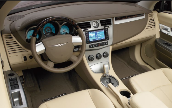 2008 Chrysler Sebring Convertible Interior and Redesign