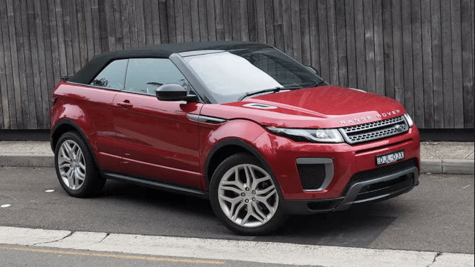 2017 Land Rover Range Rover Evoque Owners Manual and Concept