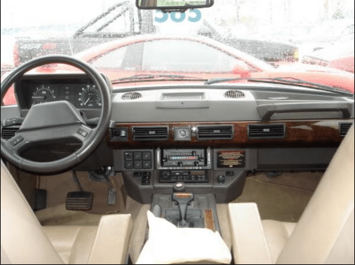 1991 Land Rover Range Rover Interior and Redesign