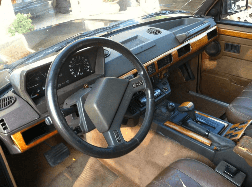 1993 Land Rover Range Rover Interior and Redesign