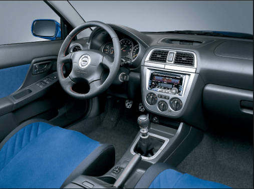 2001 Subaru Impreza Interior and Redesign
