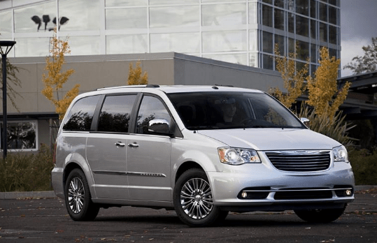 2012 Chrysler Town and Country Owners Manual and Concept