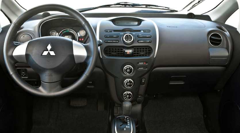 2012 Mitsubishi i Electric Vehicle Interior and Redesign