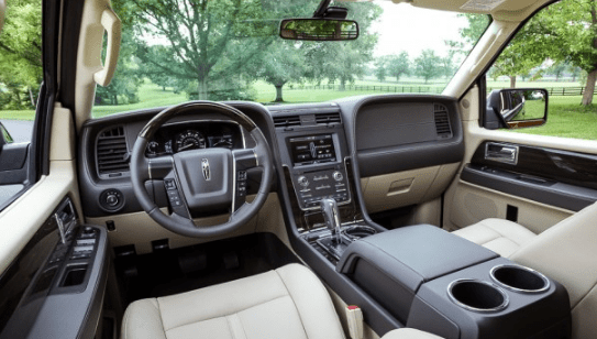 2015 Lincoln Navigator Interior and Redesign