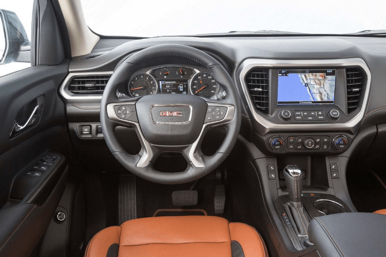 2017 GMC Acadia Interior and Redesign