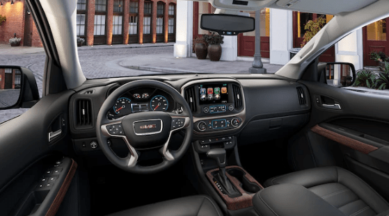 2018 GMC Canyon Interior and Redesign