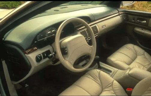 1994 Chrysler LHS Interior and Redesign