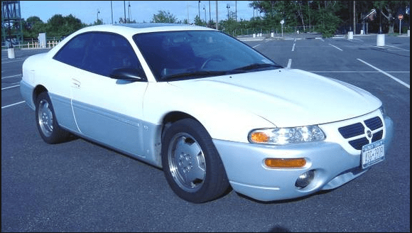 1996 Chrysler Sebring Owners Manual and Concept