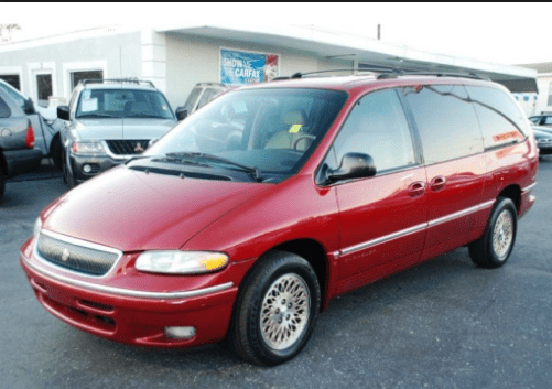 1997 Chrysler Town and Country Owners Manual and Concept