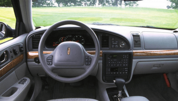 1998 Lincoln Continental Interior and Redesign