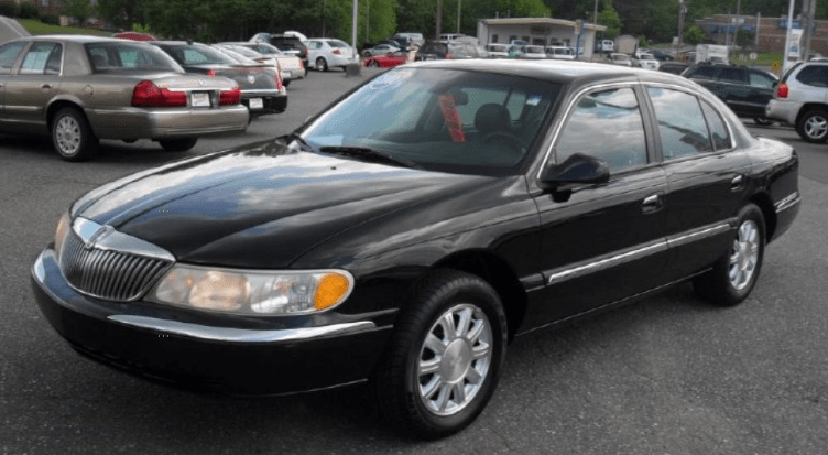 2000 Lincoln Continental Concept and Owners Manual