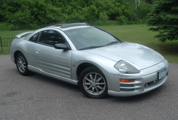 2000 Mitsubishi Eclipse Concept and Owners Manual