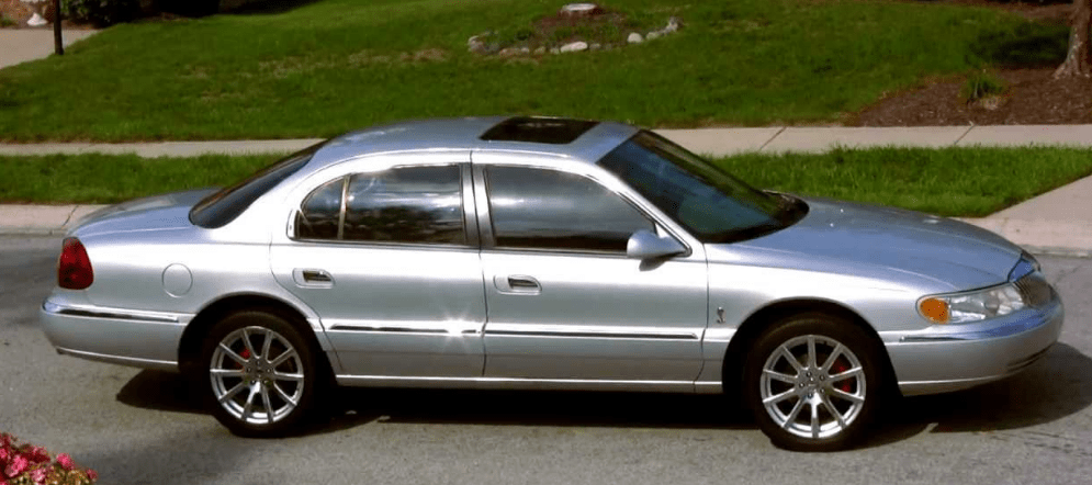2001 Lincoln Continental Concept and Owners Manual