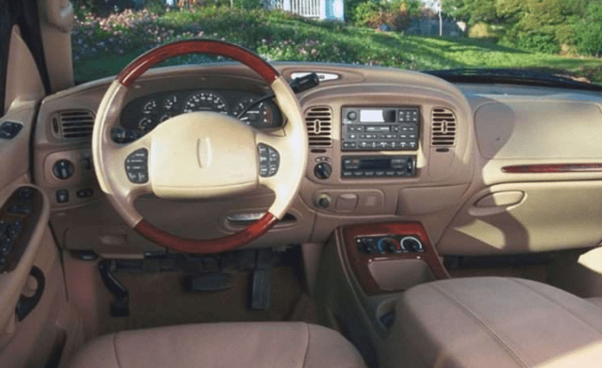 2001 Lincoln Navigator Interior and Redesign