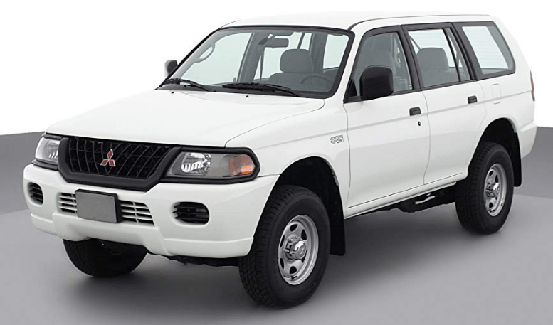 2001 Mitsubishi Montero Sport Owners Manual